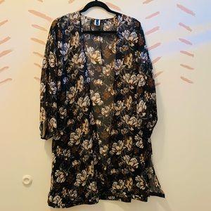 Earth-toned Kimono